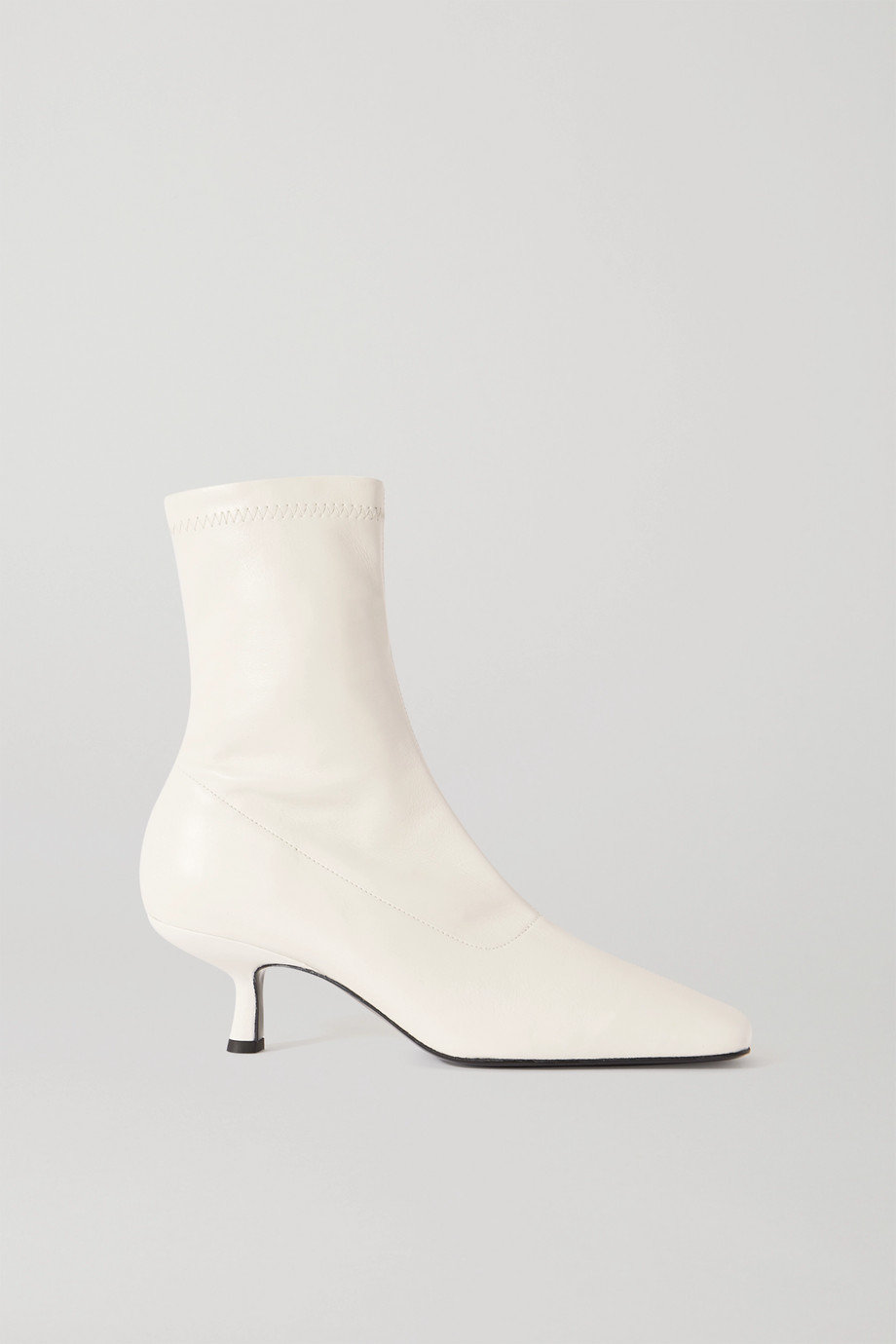 BY FAR Bottines en cuir Audrey