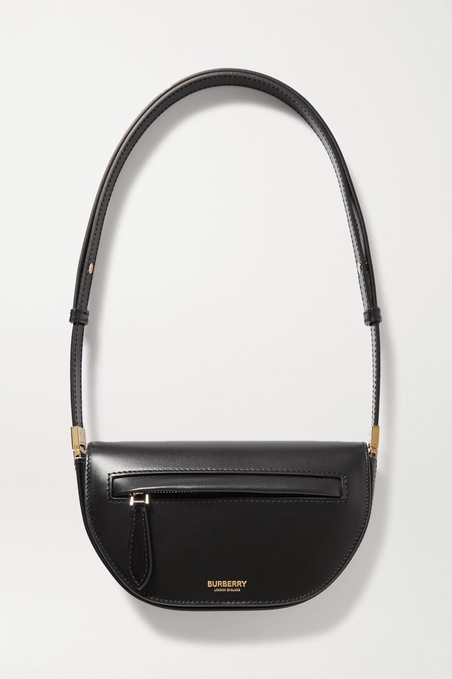 Burberry Mini leather shoulder bag