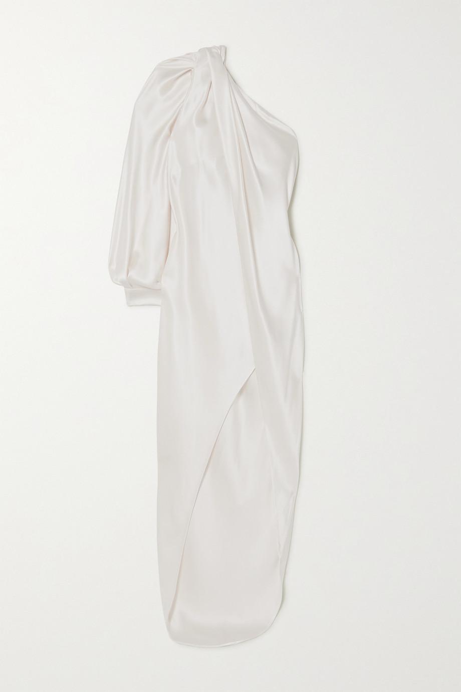 Ralph & Russo Asymmetrische Robe aus Seidensatin
