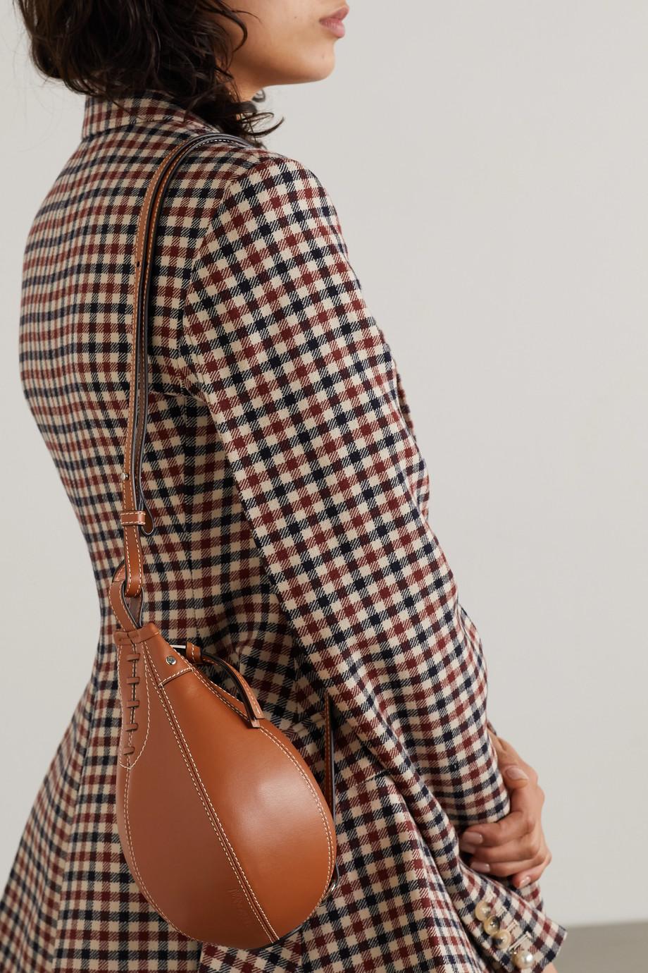 JW Anderson Punch Bag leather shoulder bag