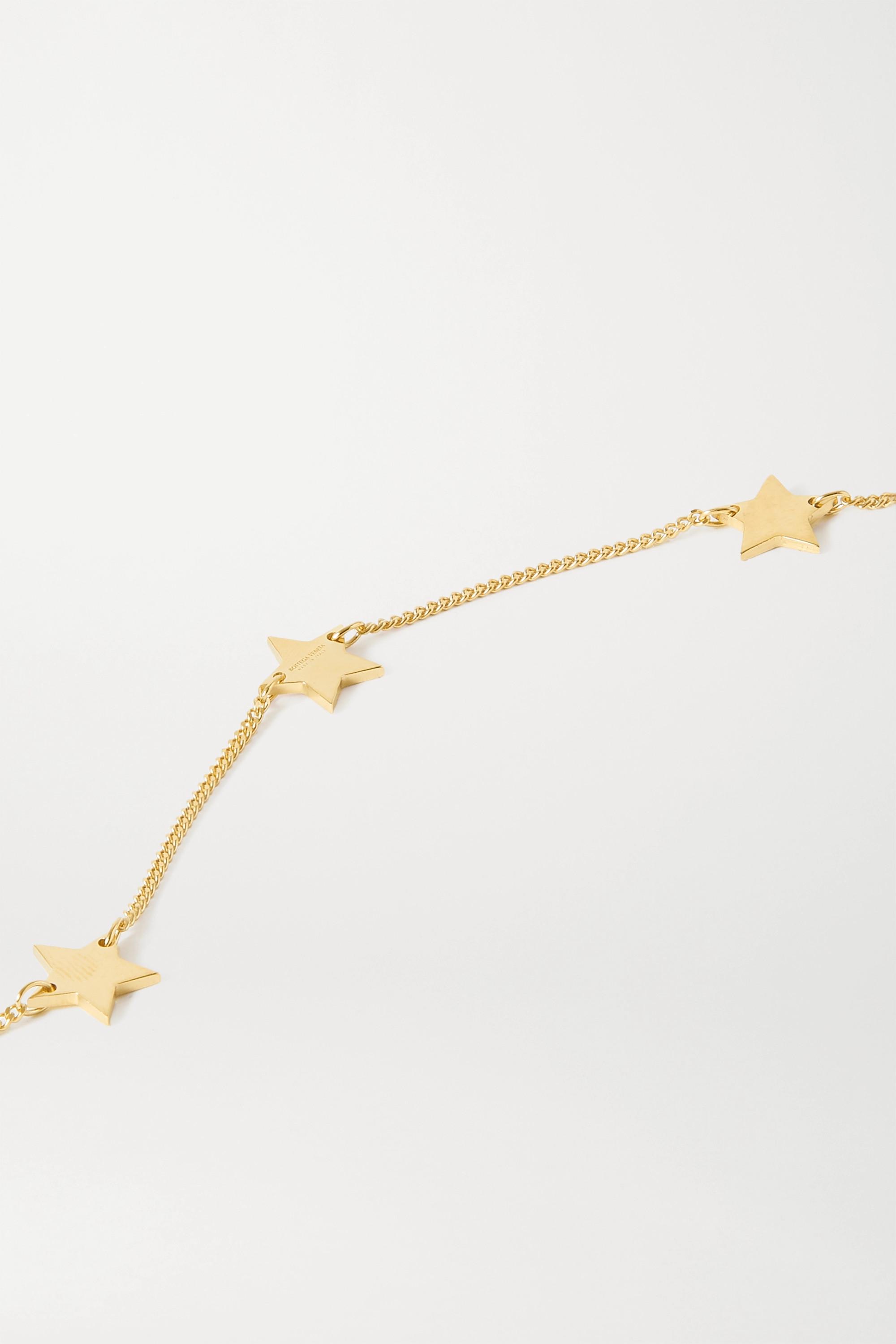Bottega Veneta Gold-tone necklace