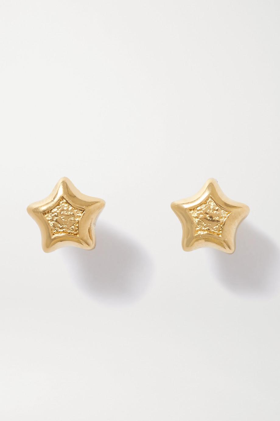 Bottega Veneta 金色耳环