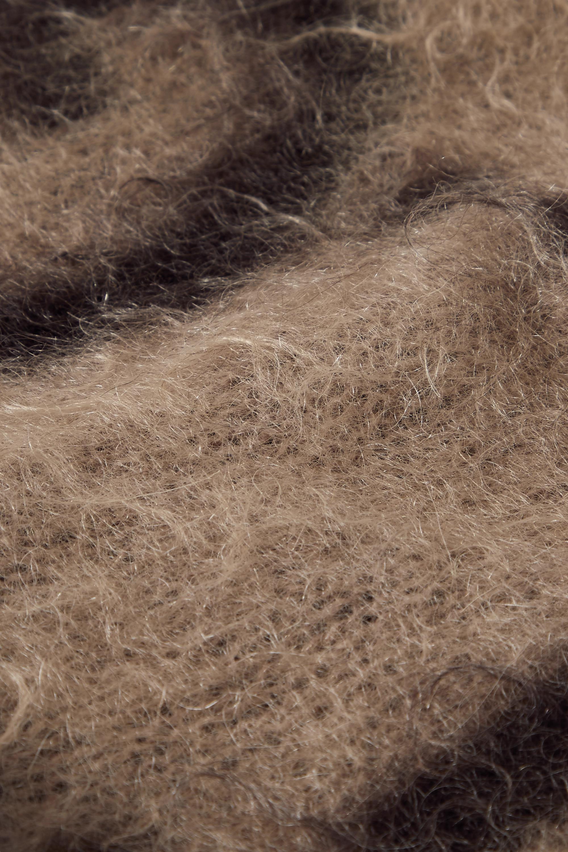 Gucci Brushed mohair-blend jacquard beanie