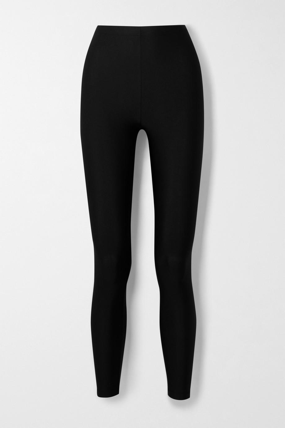 Balenciaga Satin-jersey leggings