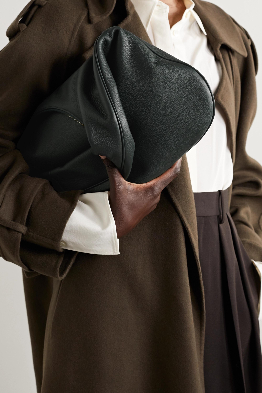 The Row Everyday Schultertasche aus strukturiertem Leder