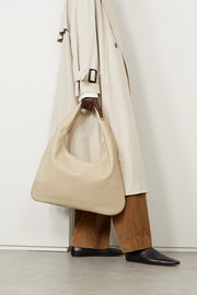 The Row Everyday textured-leather shoulder bag