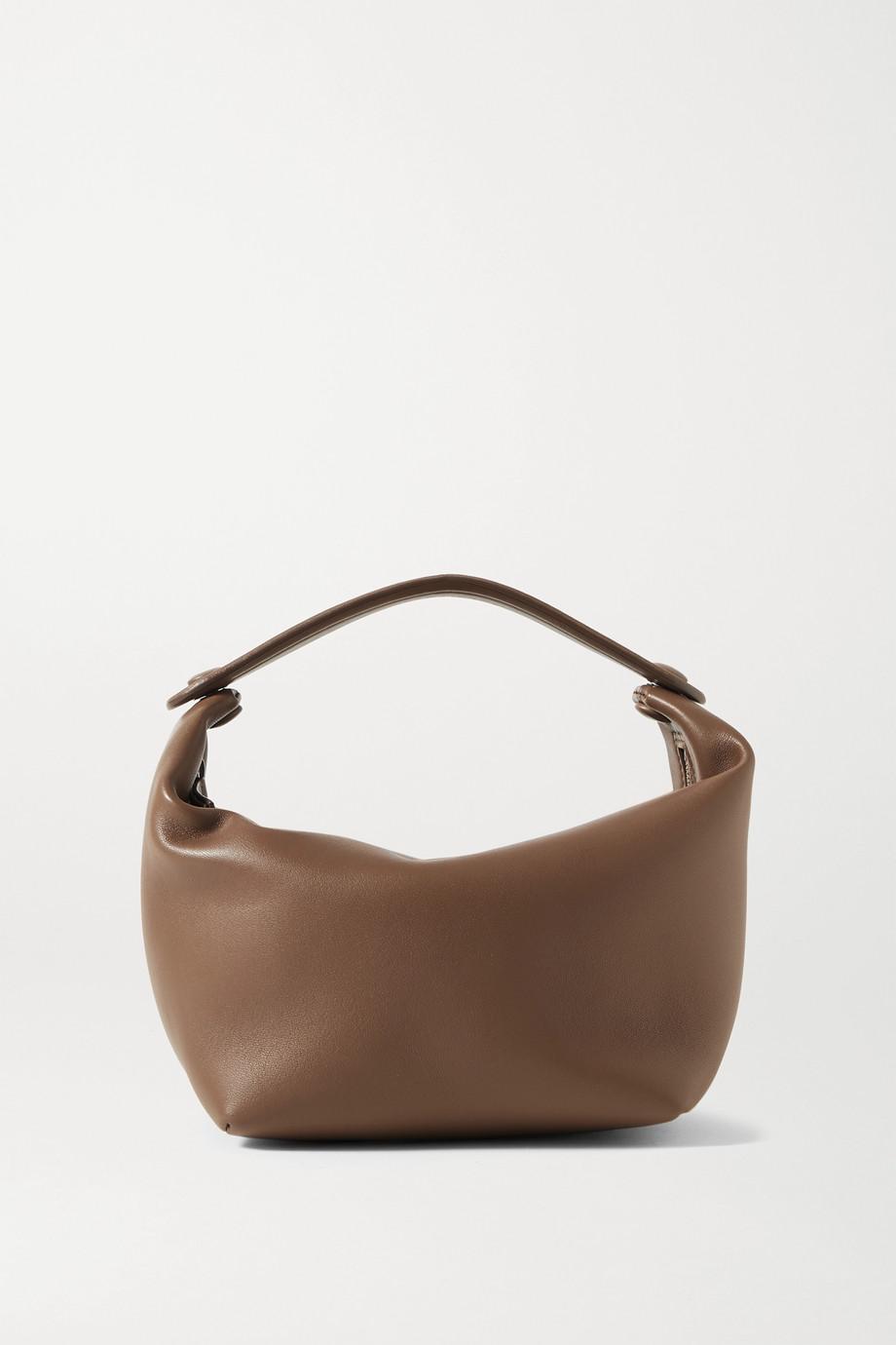 The Row Les Bains mini leather tote
