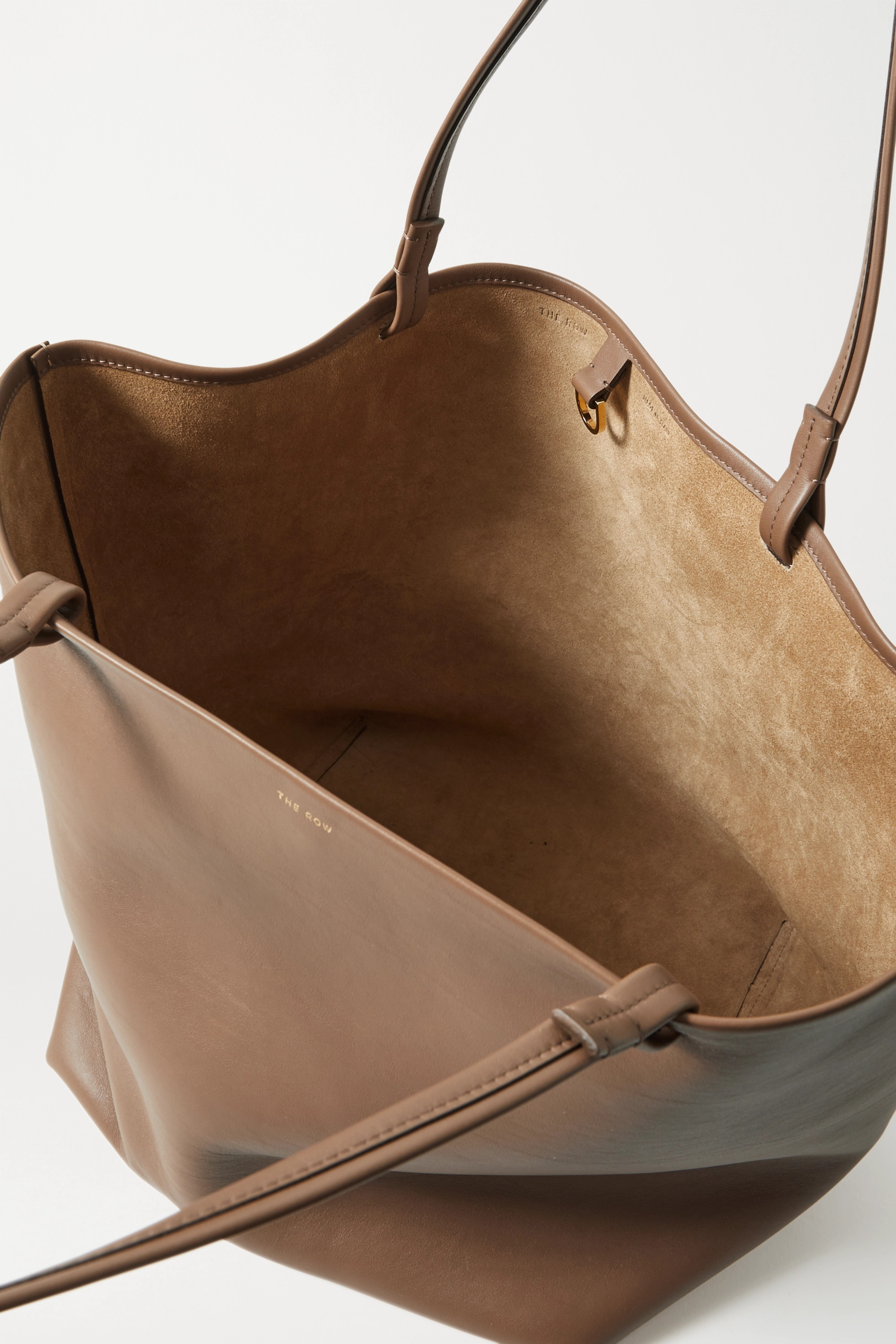 The Row Park 3 medium leather tote