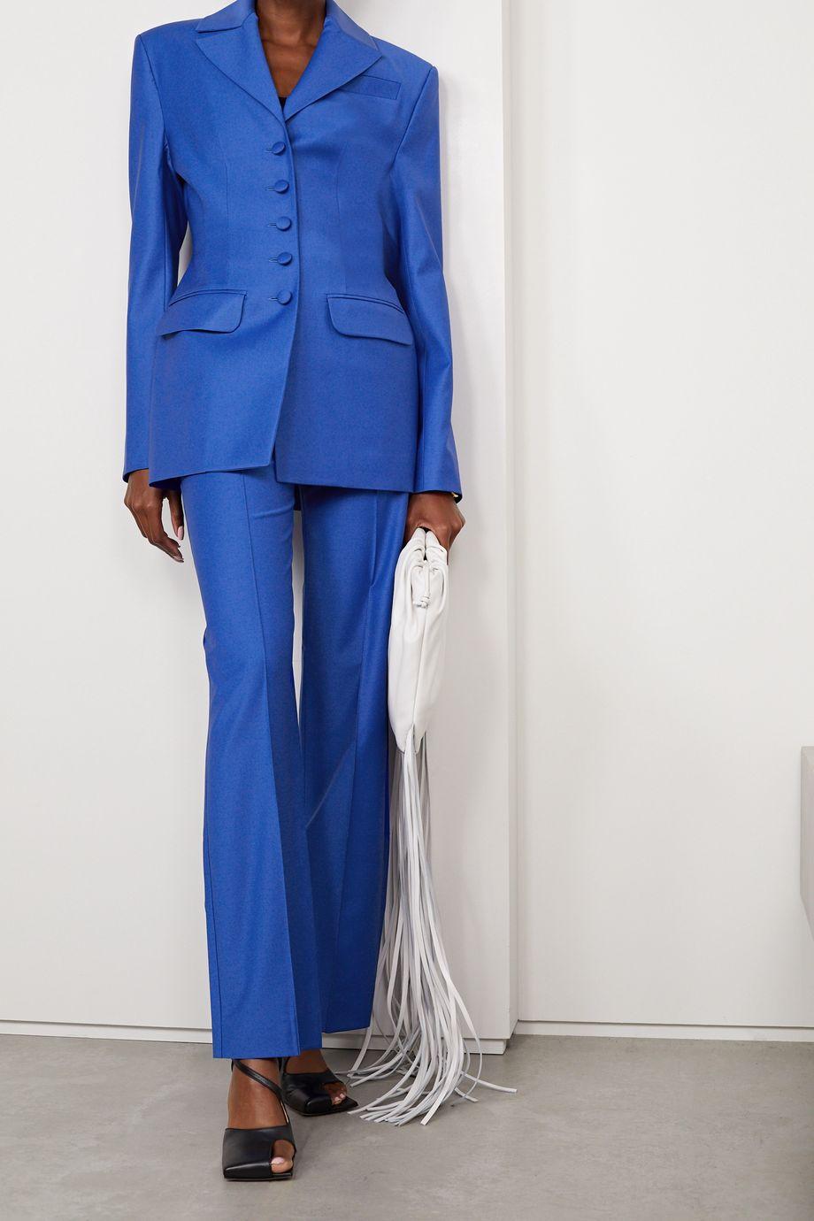Aleksandre Akhalkatsishvili Wool-blend blazer