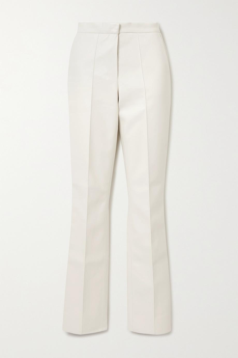 Lado Bokuchava Hose mit geradem Bein aus Kunstleder
