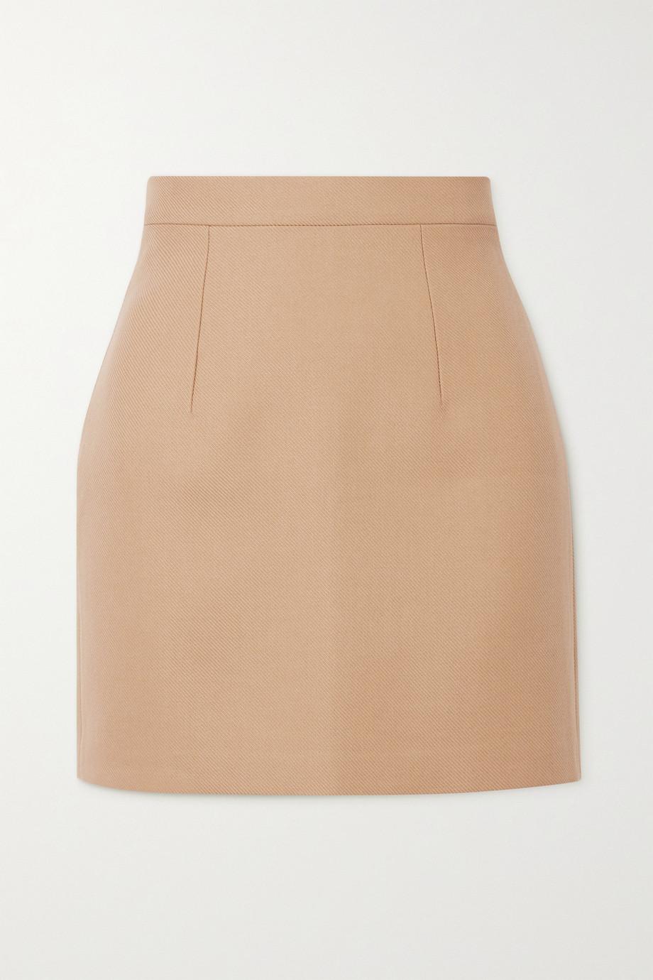 Lado Bokuchava Cotton-drill mini skirt