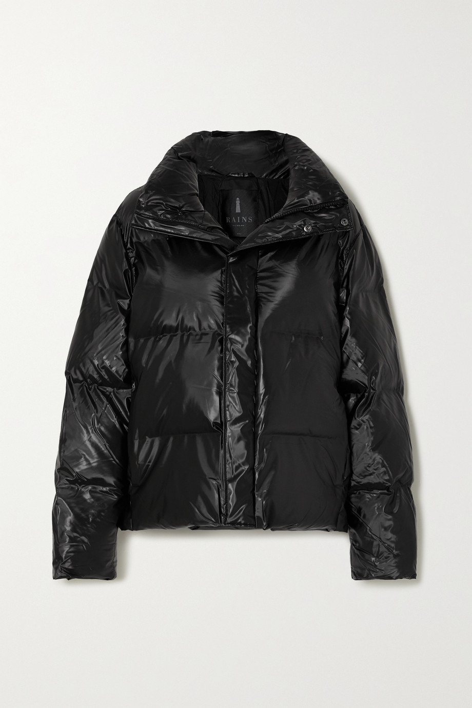 Rains Quilted padded shell jacket