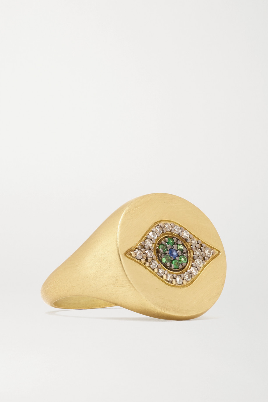 Ileana Makri Golden Dawn 18-karat gold multi-stone ring