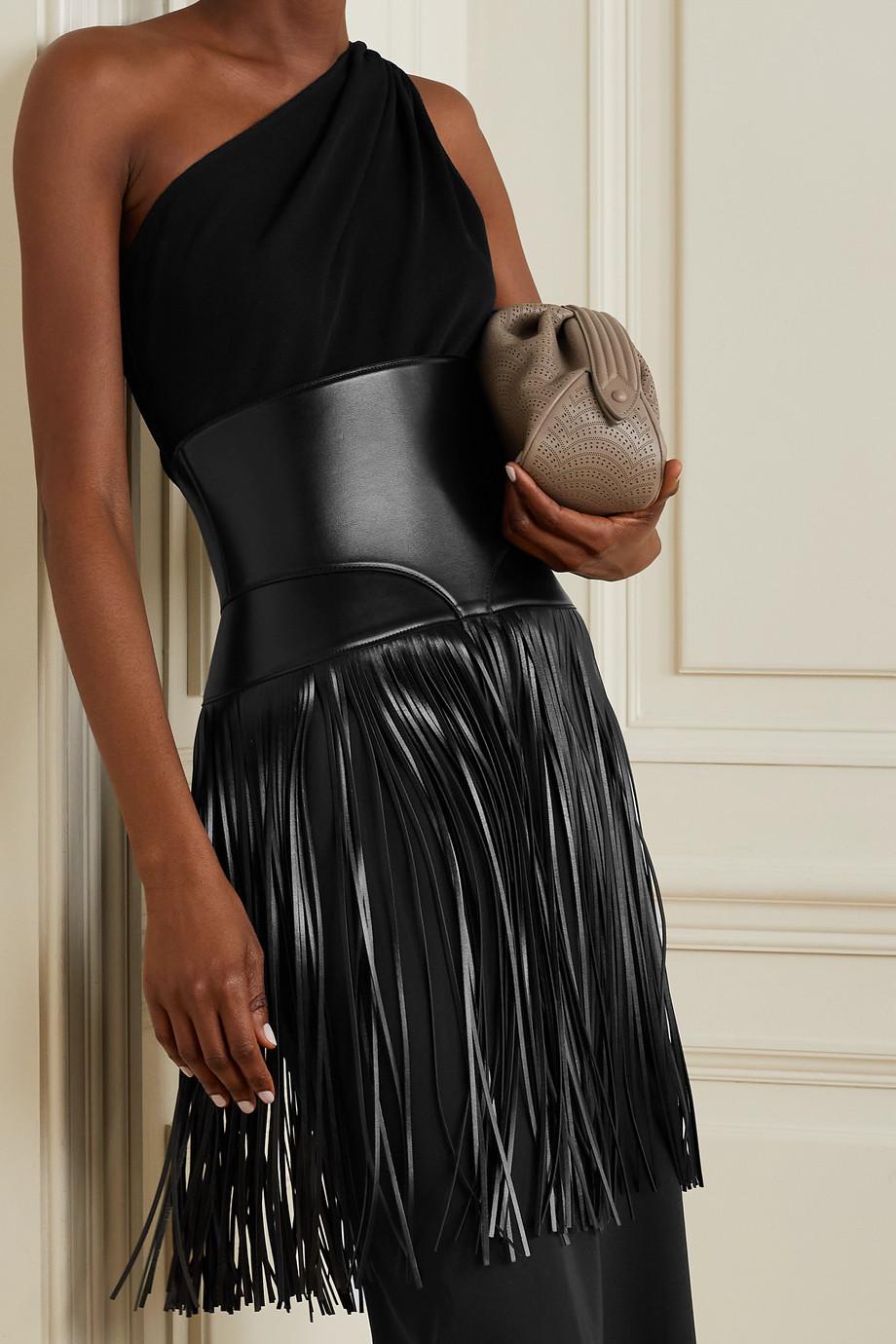 Alaïa Fringed leather waist belt