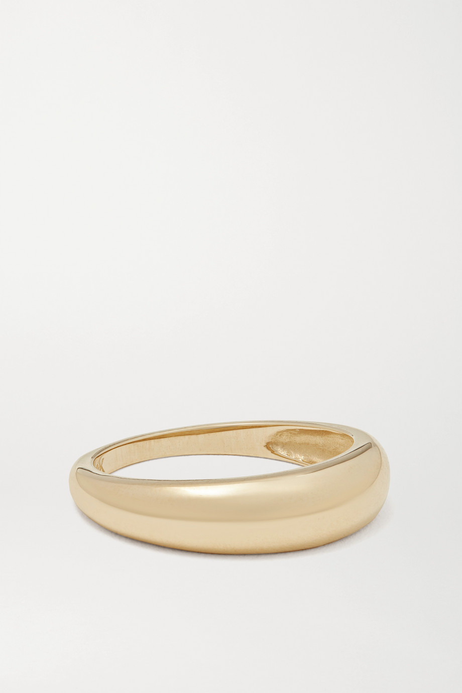 STONE AND STRAND Bombe 9-karat gold ring