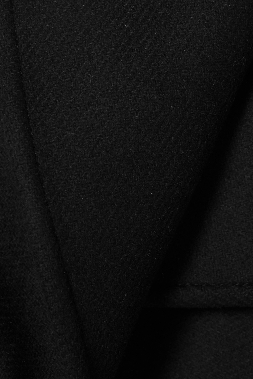 Haider Ackermann Veste à double boutonnage en serge de laine mélangée