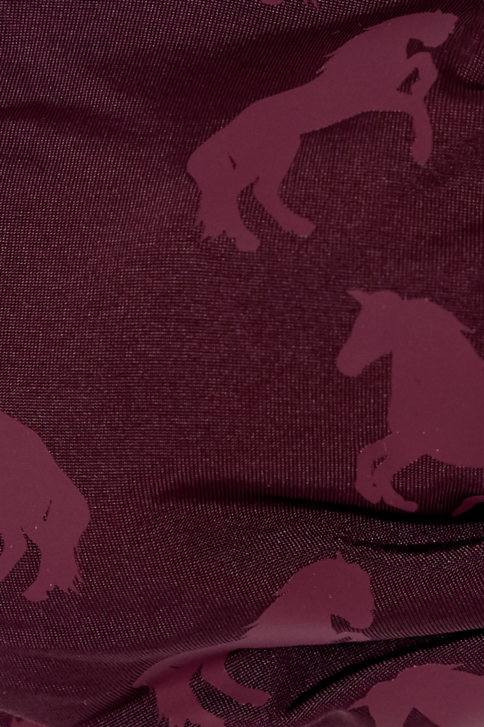 Stella McCartney Ruched printed halterneck bikini top