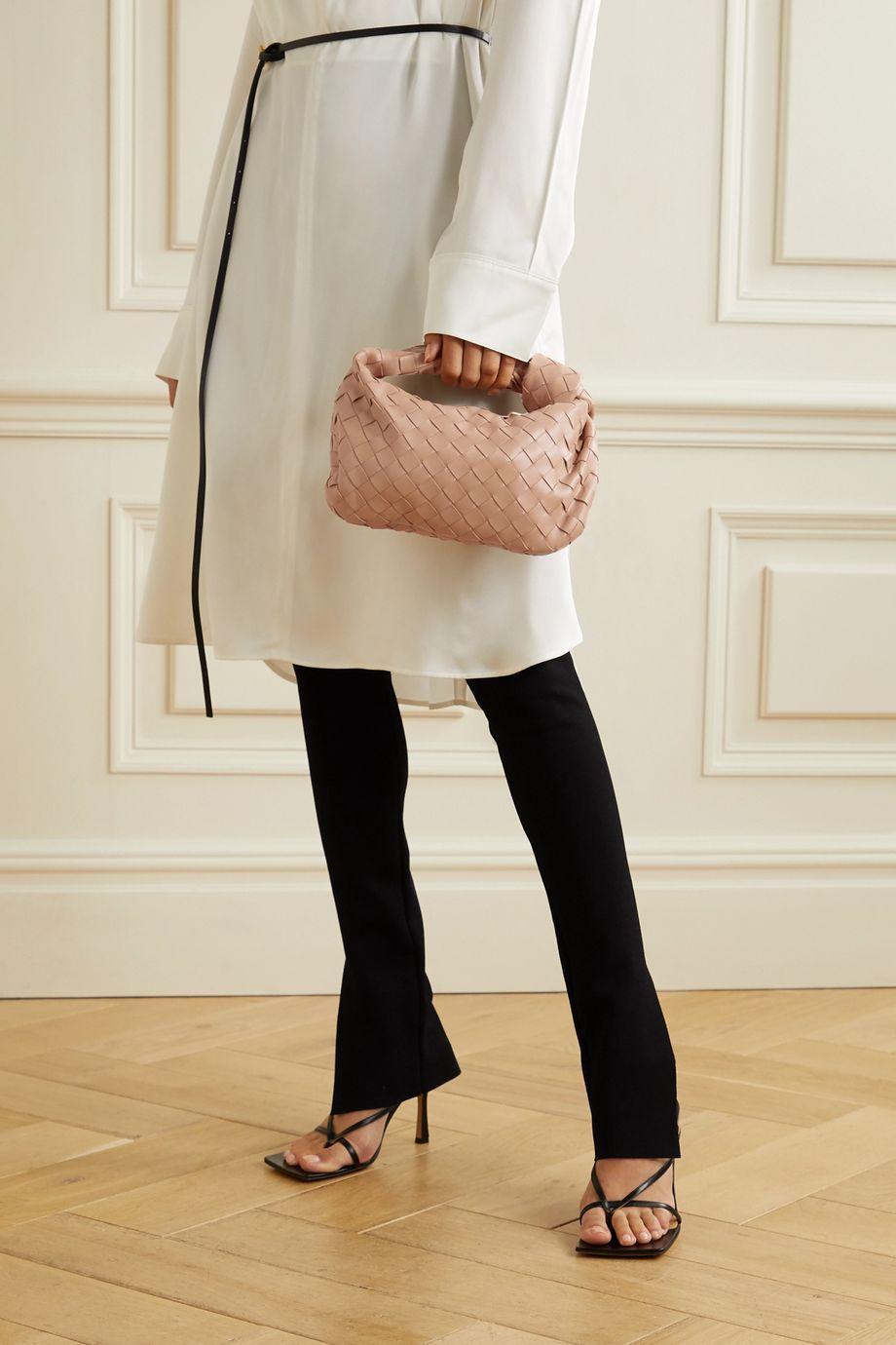 Bottega Veneta Jodie mini knotted intrecciato leather tote