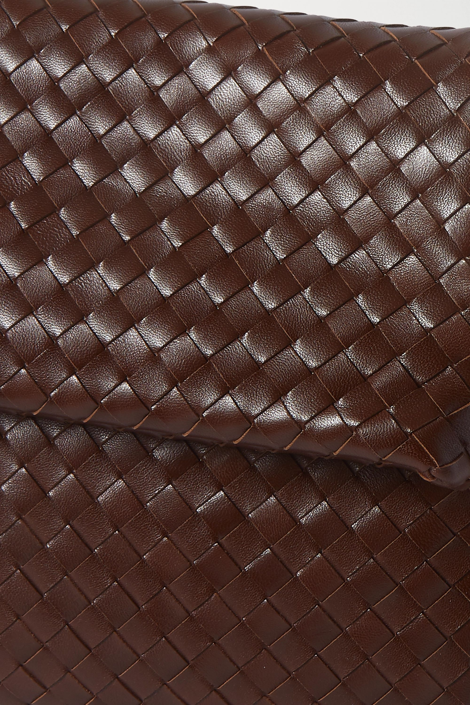 Bottega Veneta Sac porté épaule en cuir intrecciato à ornements The Fold
