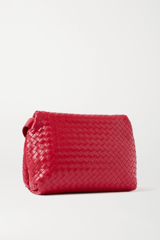 Bottega Veneta Sac porté épaule en cuir intrecciato The Fold
