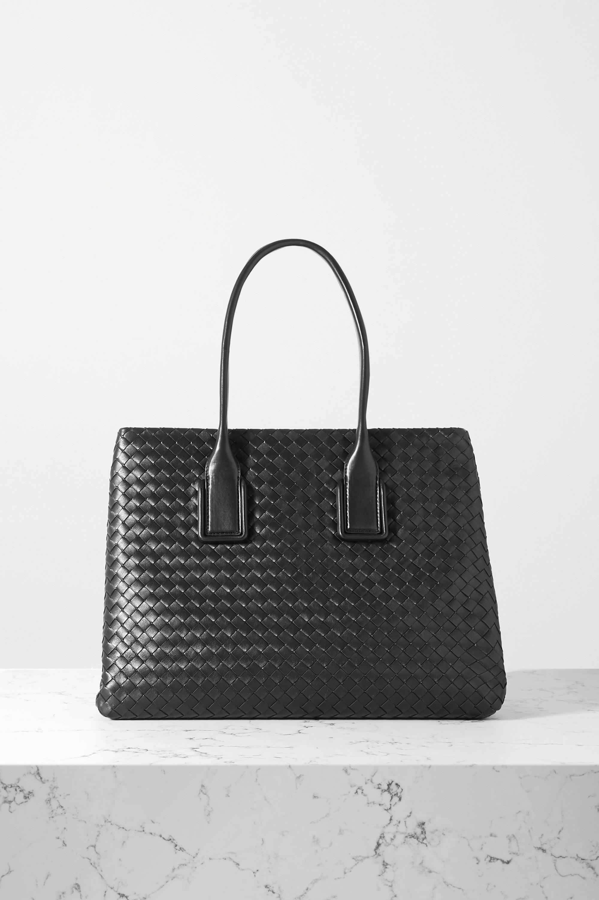 Bottega Veneta Small intrecciato leather tote