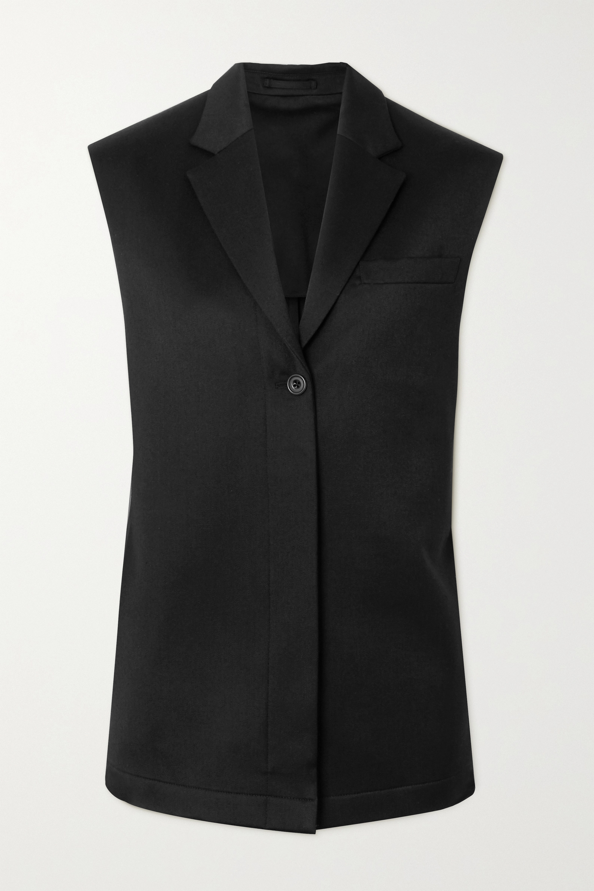 Wright Le Chapelain Wool-twill vest