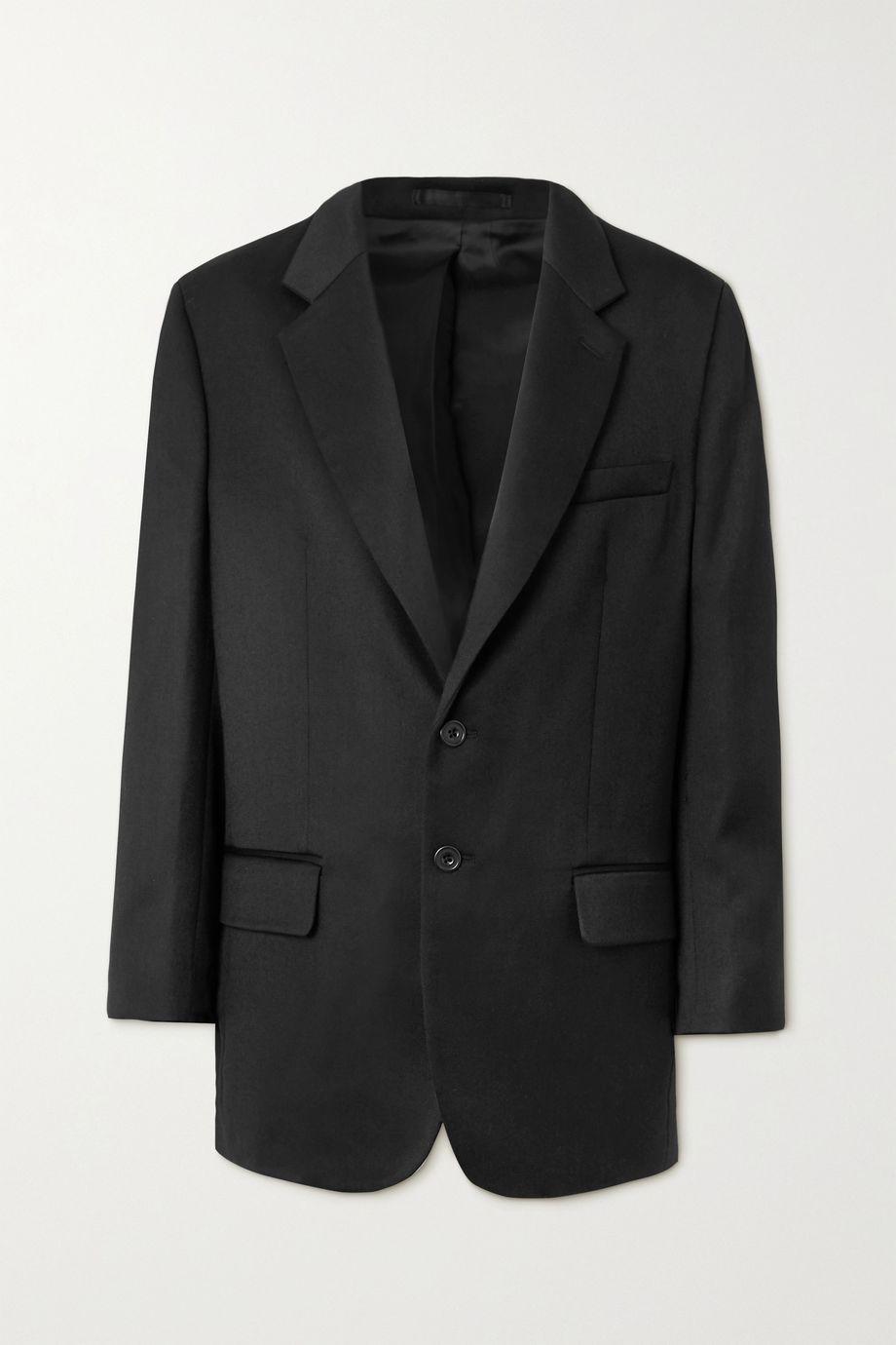 Wright Le Chapelain Wool-twill blazer