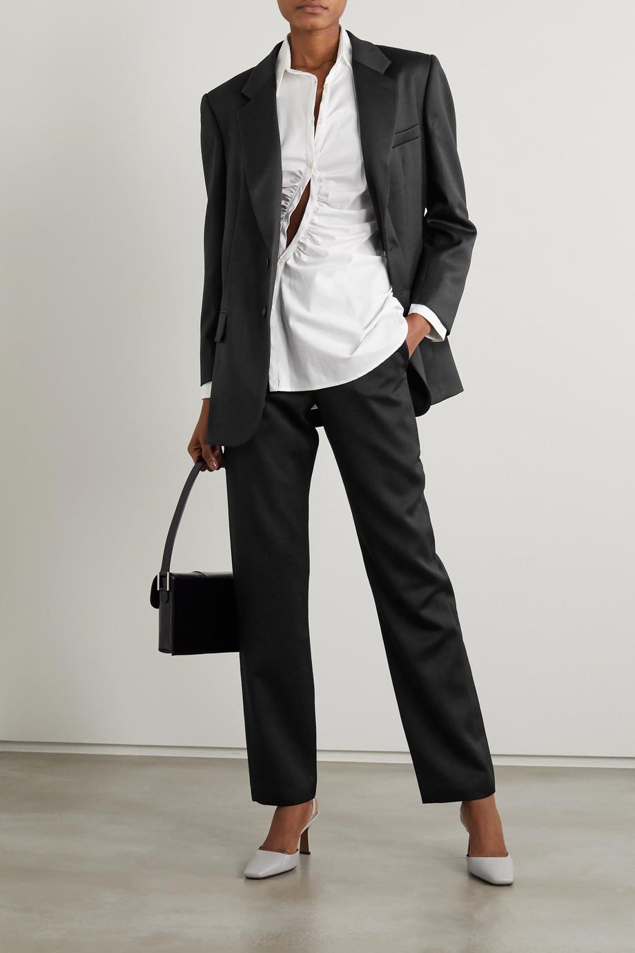 Wright Le Chapelain Blazer aus Woll-Twill