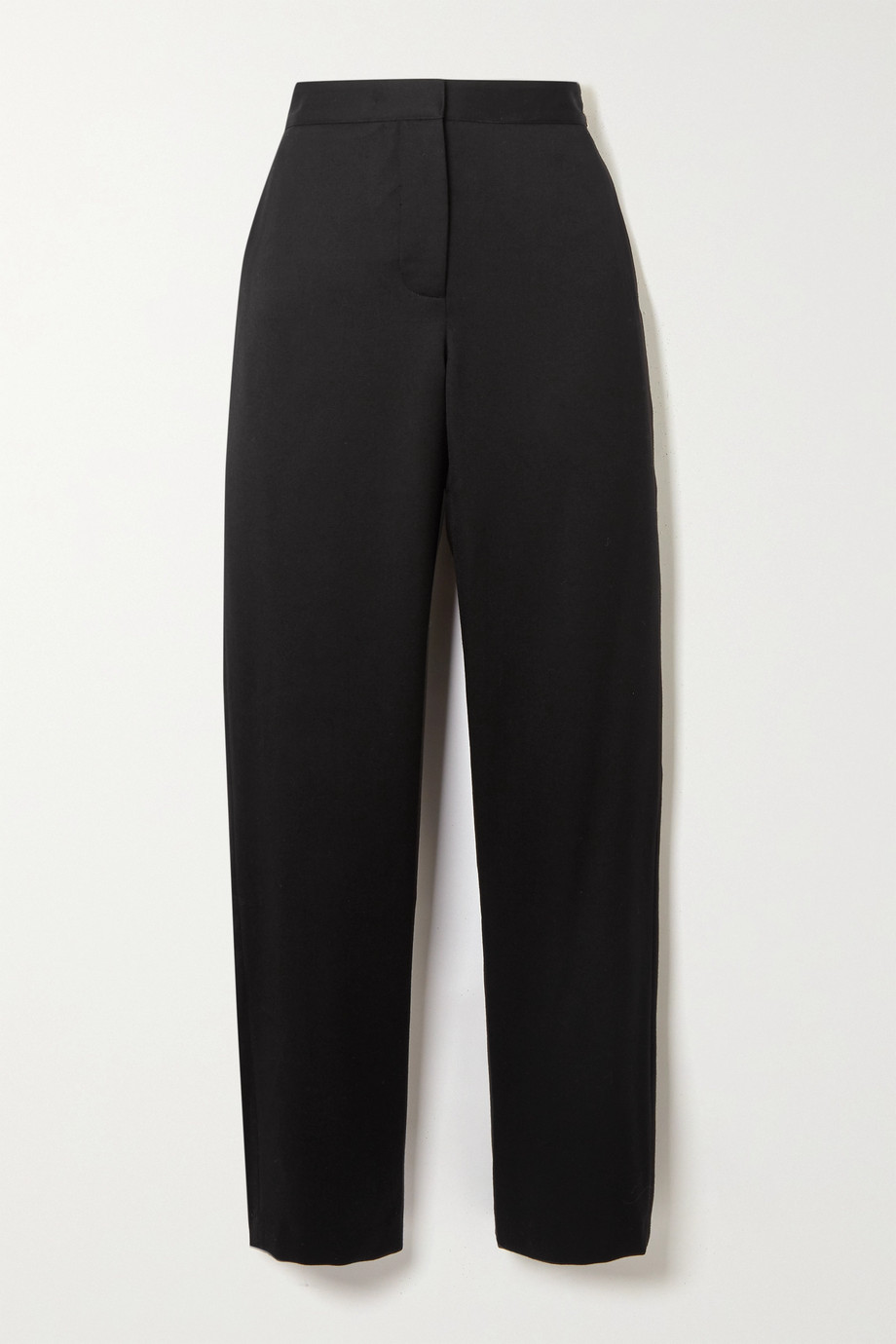 Wright Le Chapelain Wool-twill straight-leg pants