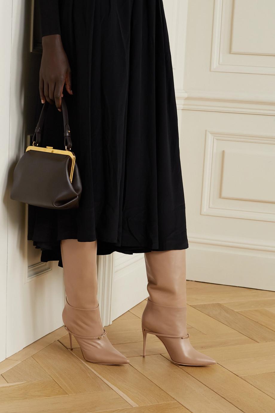 Jennifer Chamandi Cece 105 leather knee boots