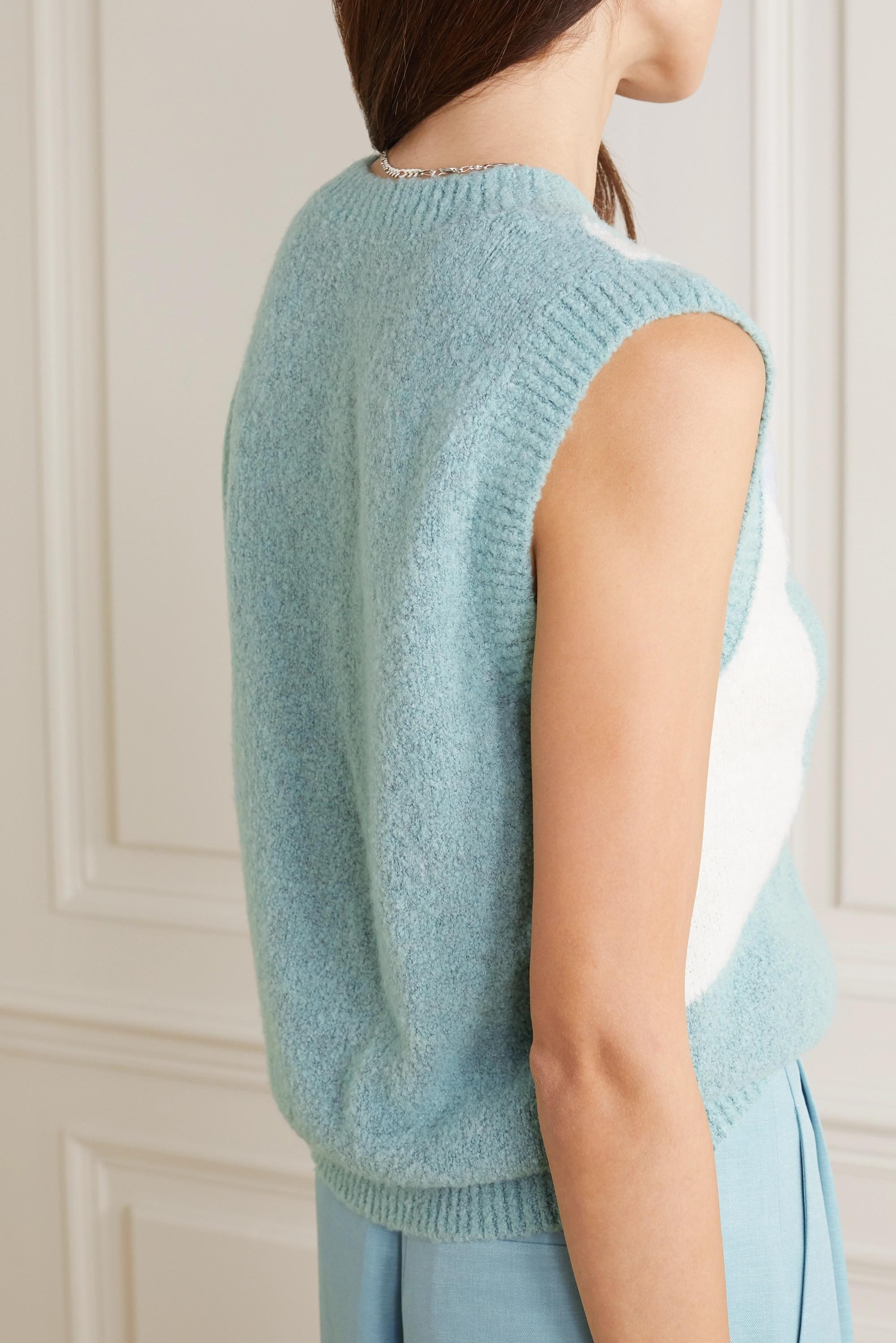 Dodo Bar Or Silviya color-block knitted sweater