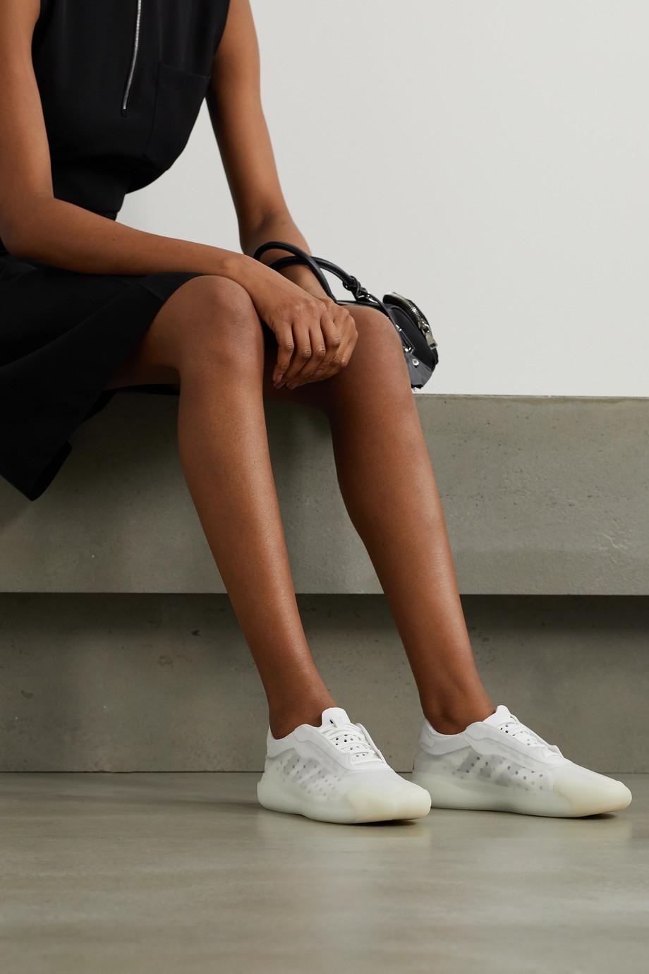 adidas Originals + Prada neoprene and mesh sneakers