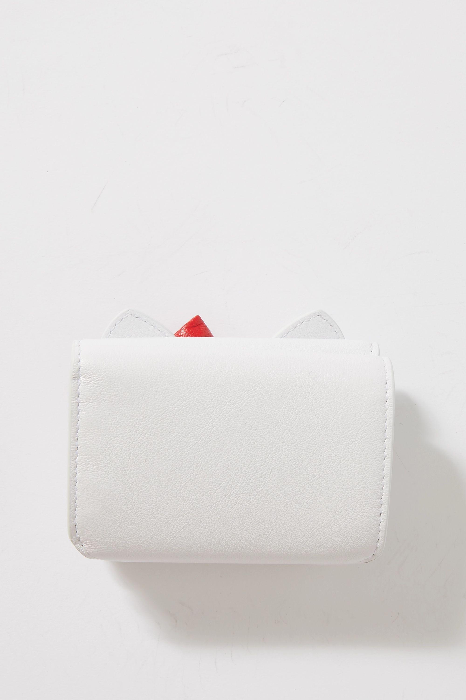 Balenciaga + Hello Kitty mini printed leather wallet