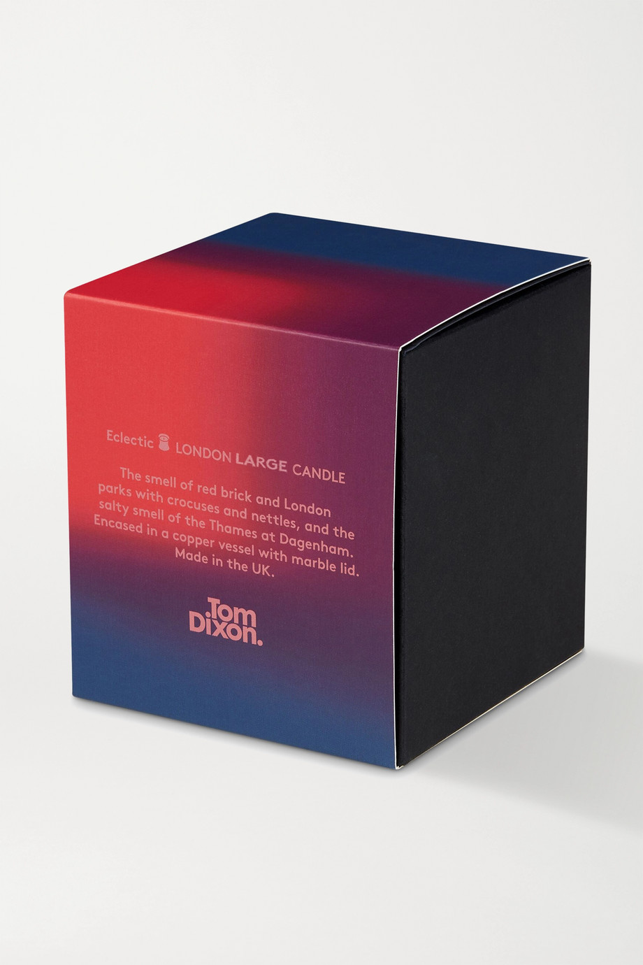 Tom Dixon London large scented candle, 515g