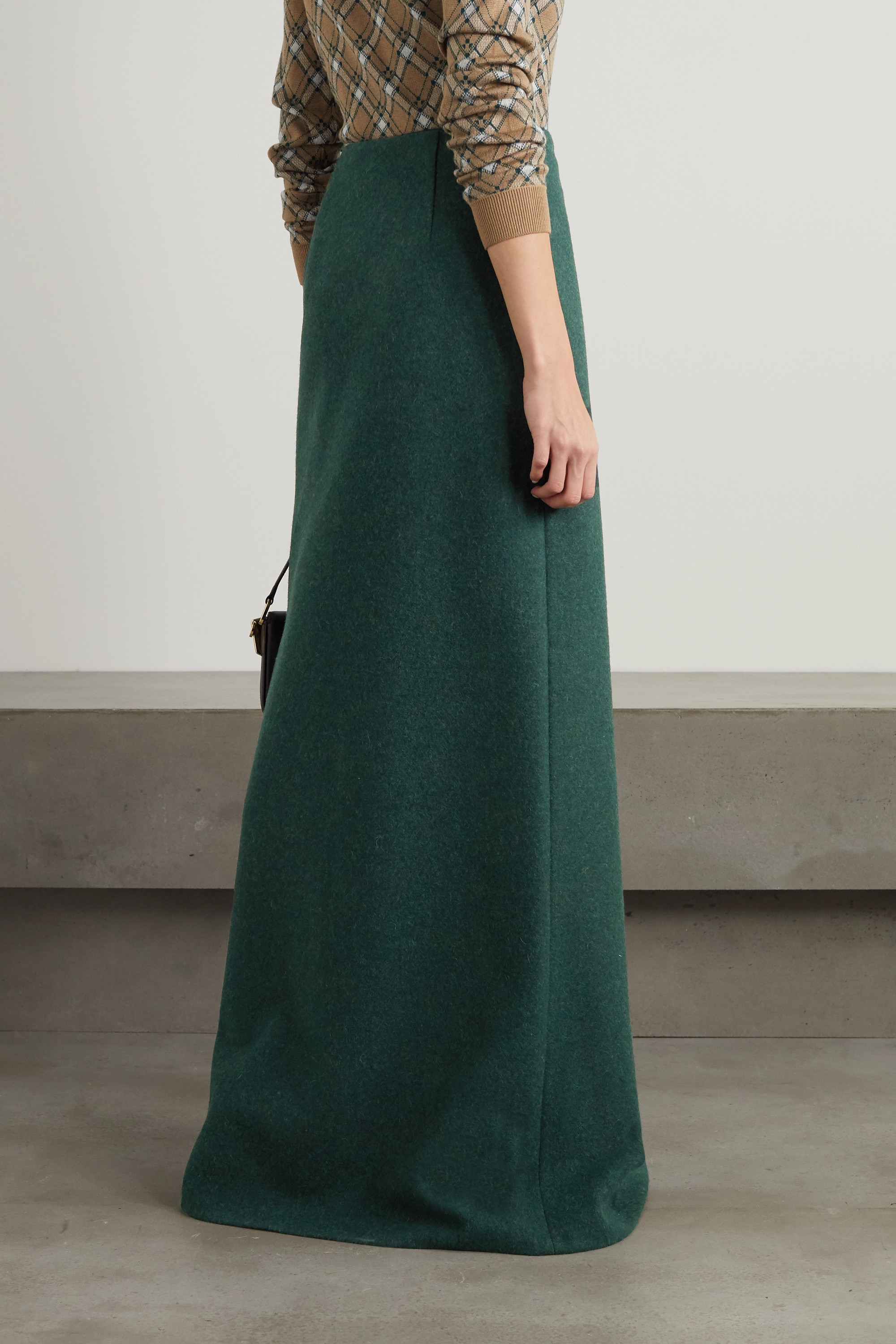 Miu Miu Wool maxi skirt