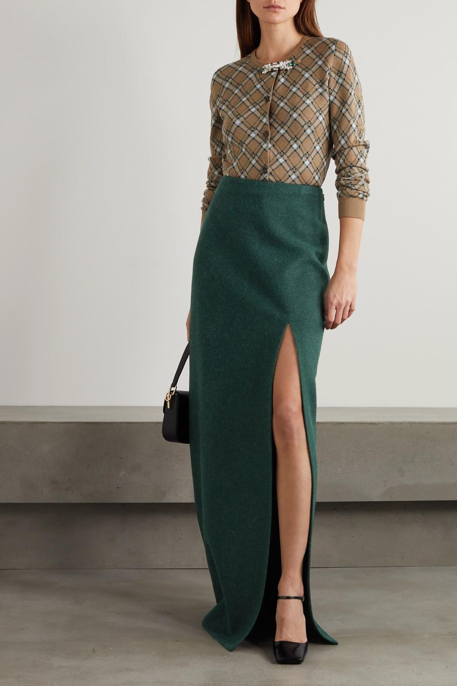 Miu Miu Wool maxi skirt