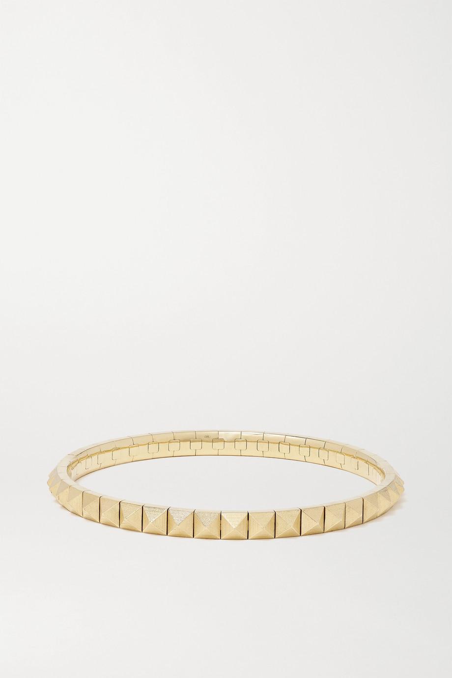 Jacquie Aiche Spike 14-karat gold bracelet
