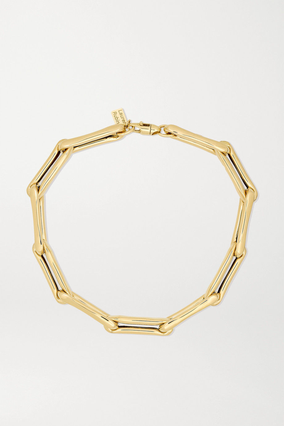 Lauren Rubinski Extra Large 14-karat gold necklace