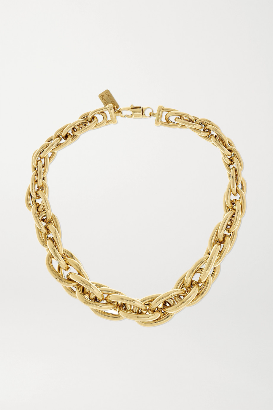 Lauren Rubinski Extra Large 14-karat gold necklace