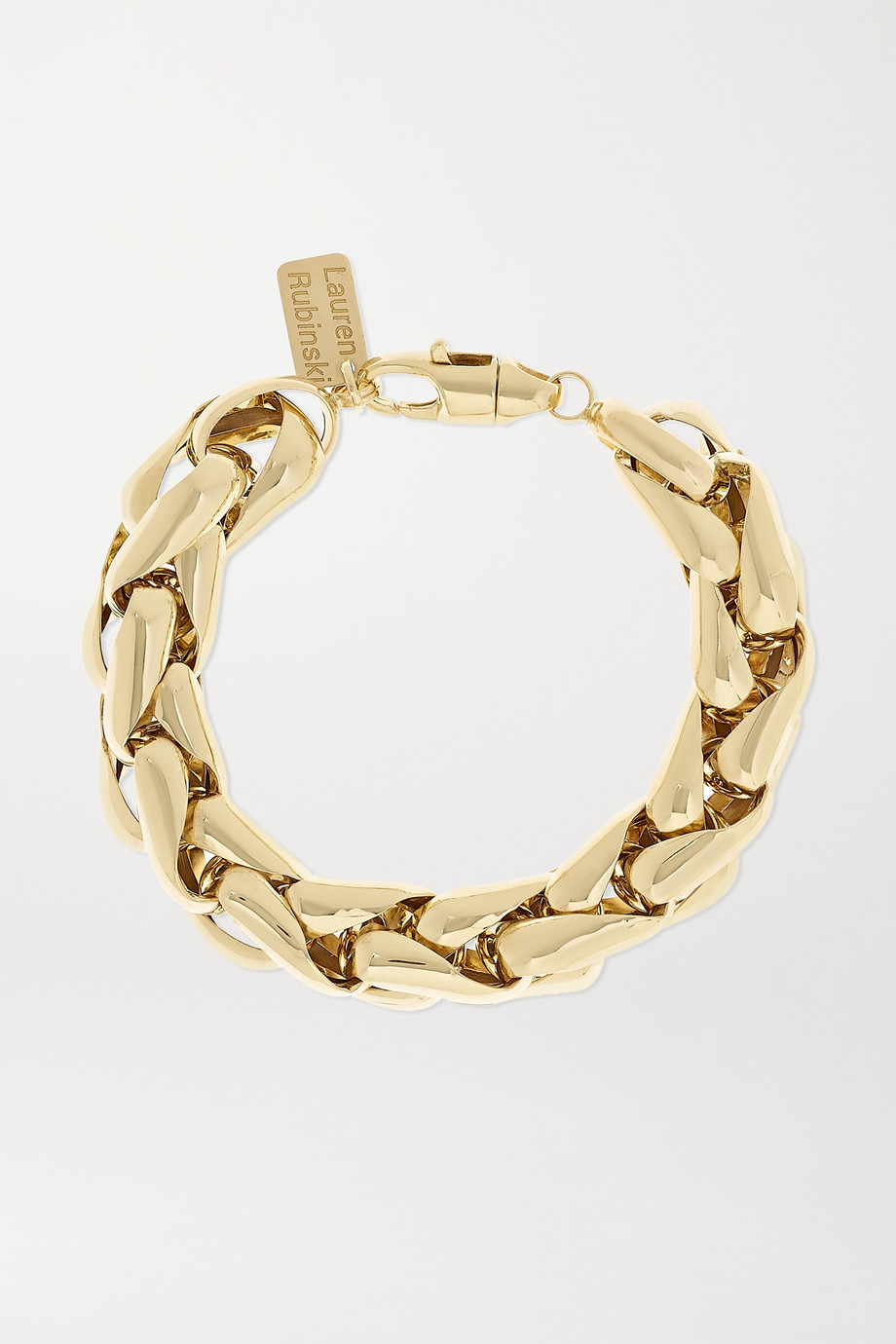 Lauren Rubinski Bracelet en or 14 carats Medium