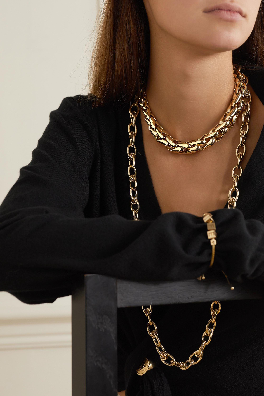 Lauren Rubinski Large Kette aus 14 Karat Gold