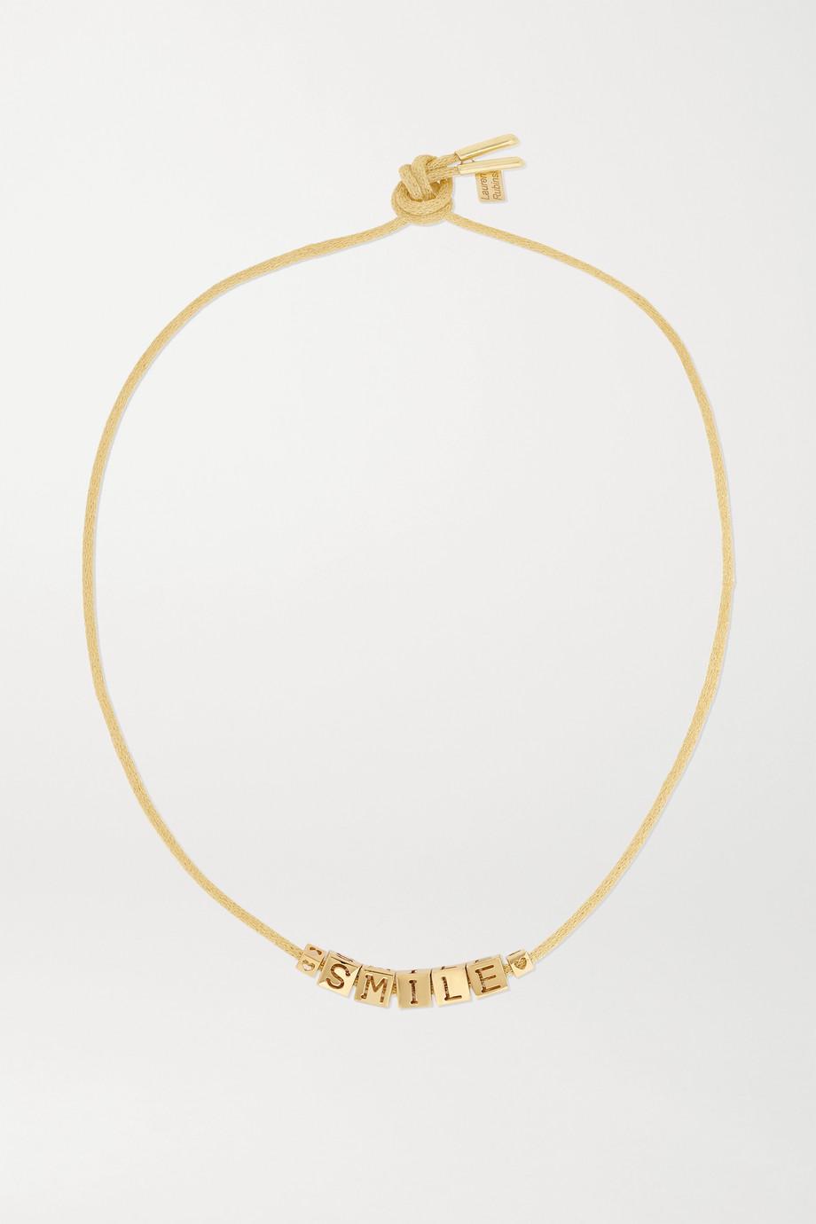 Lauren Rubinski Smile 14K 黄金项链