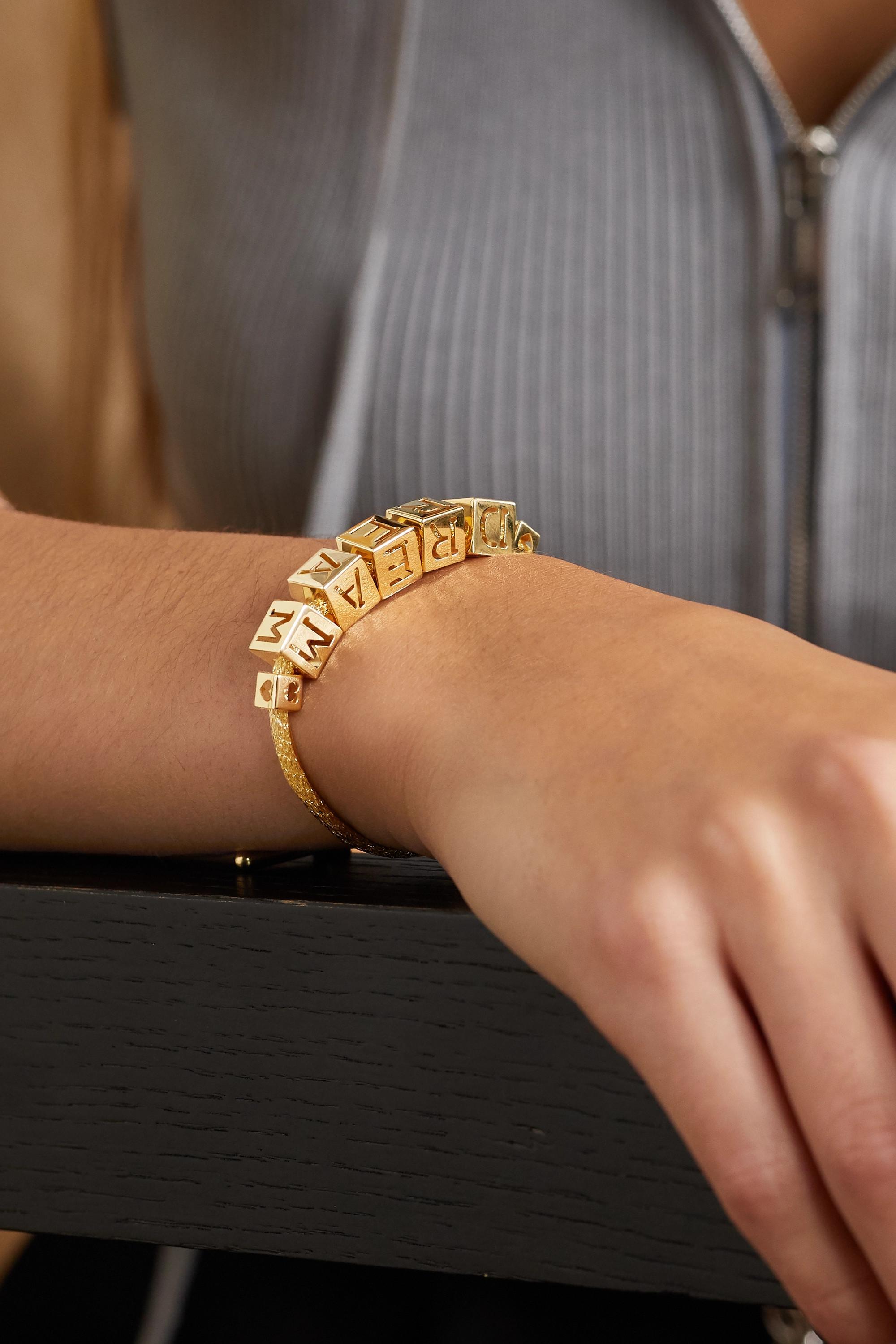 Lauren Rubinski Bracelet en or 14 carats Dream