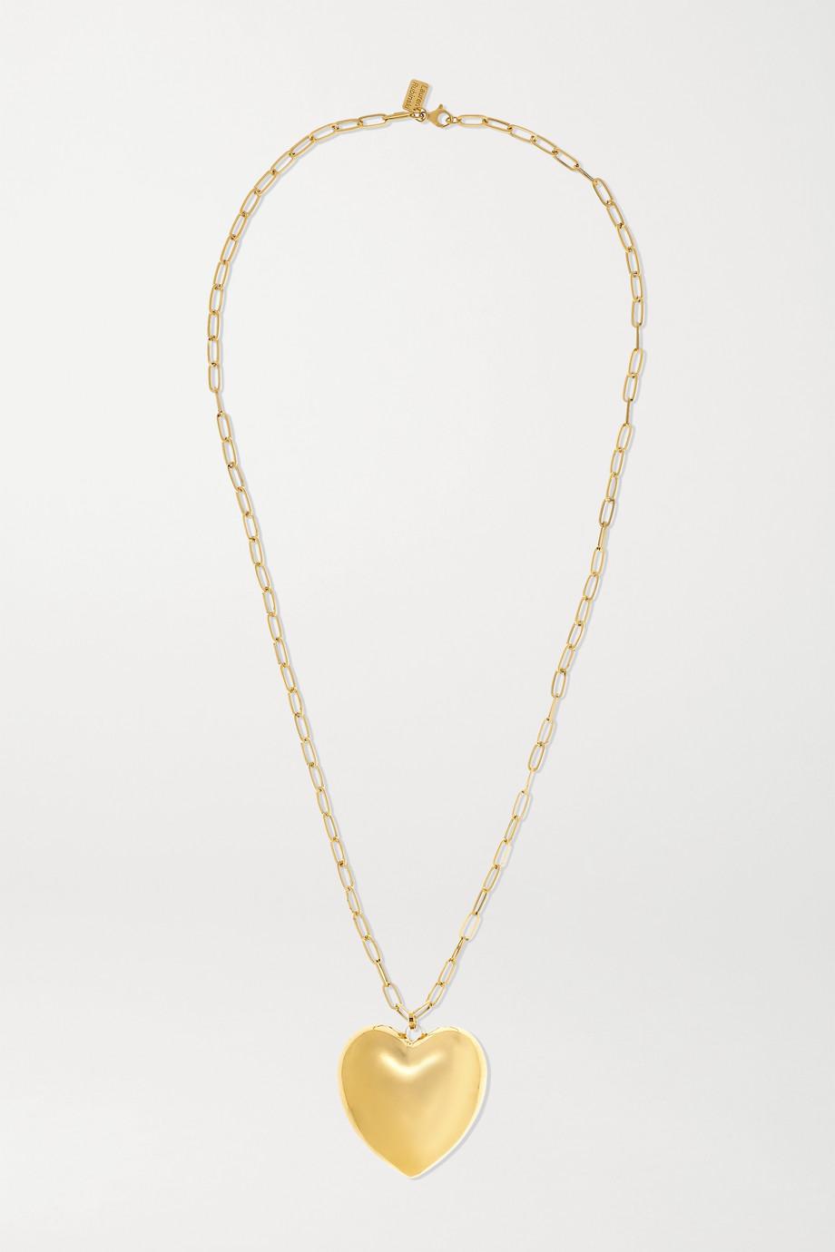 Lauren Rubinski 14-karat gold necklace