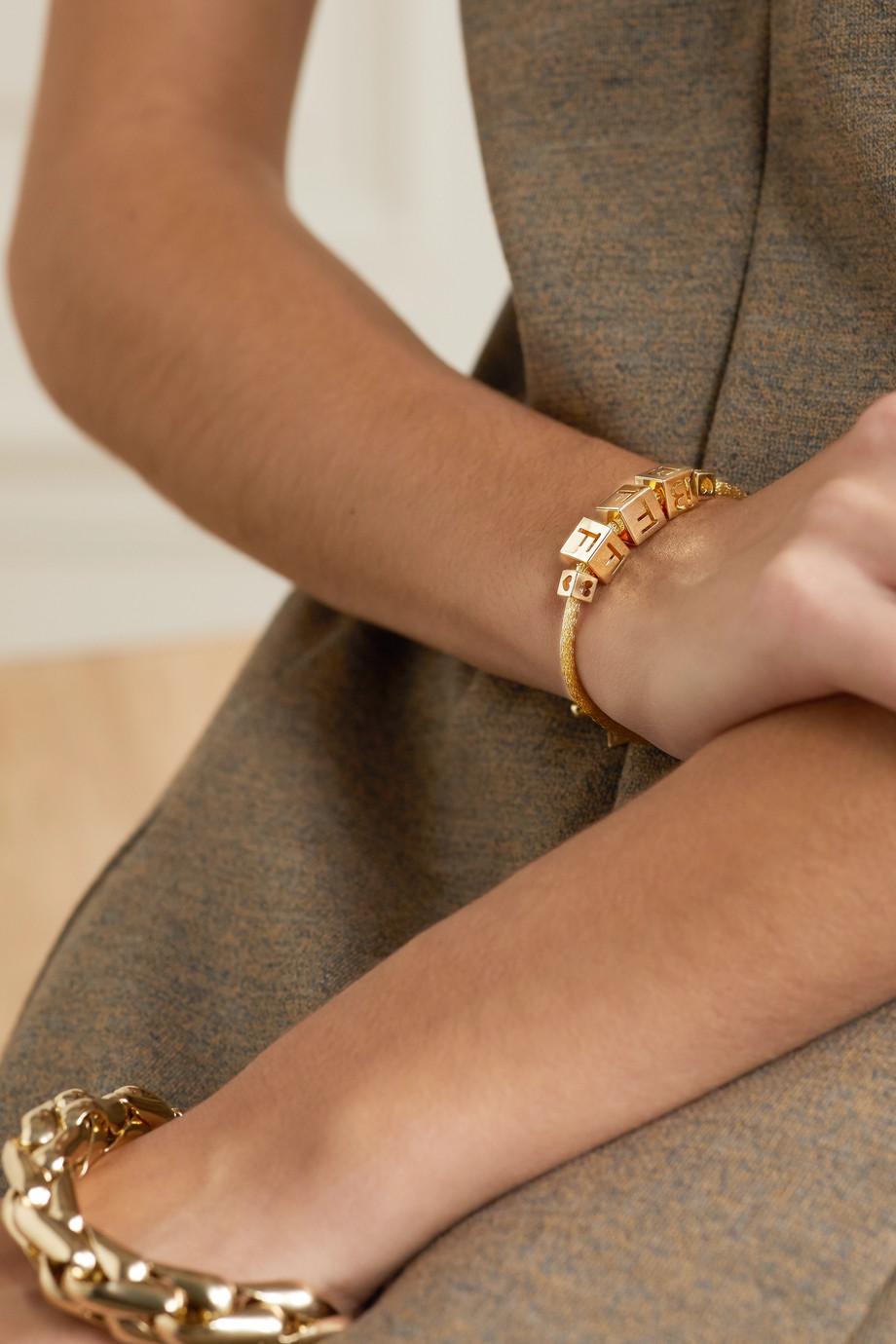 Lauren Rubinski BFF Armband aus 14 Karat Gold