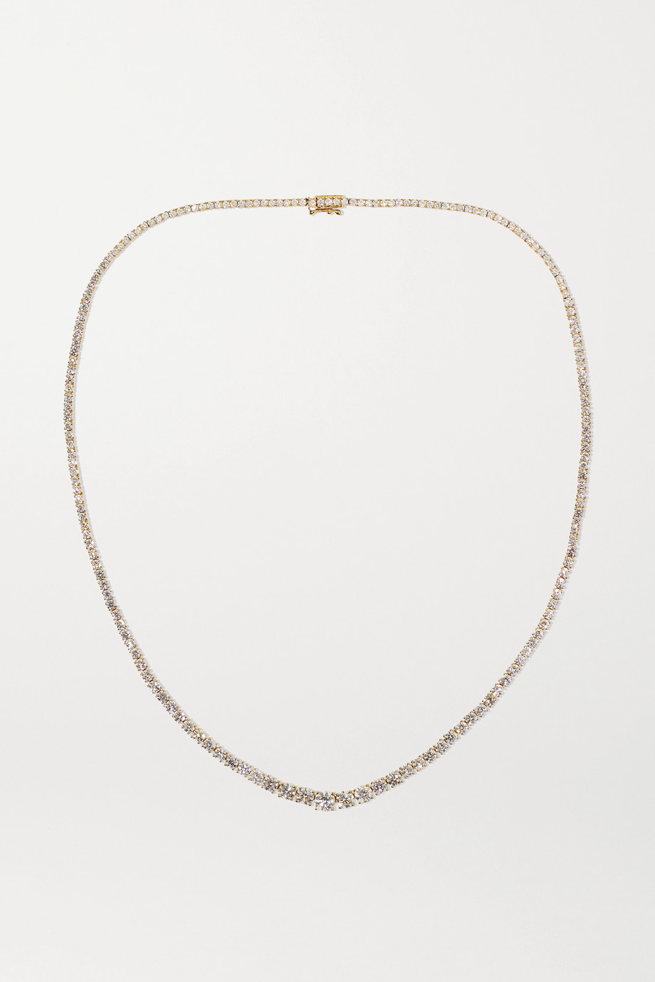 Anita Ko Hepburn 18-karat gold diamond necklace