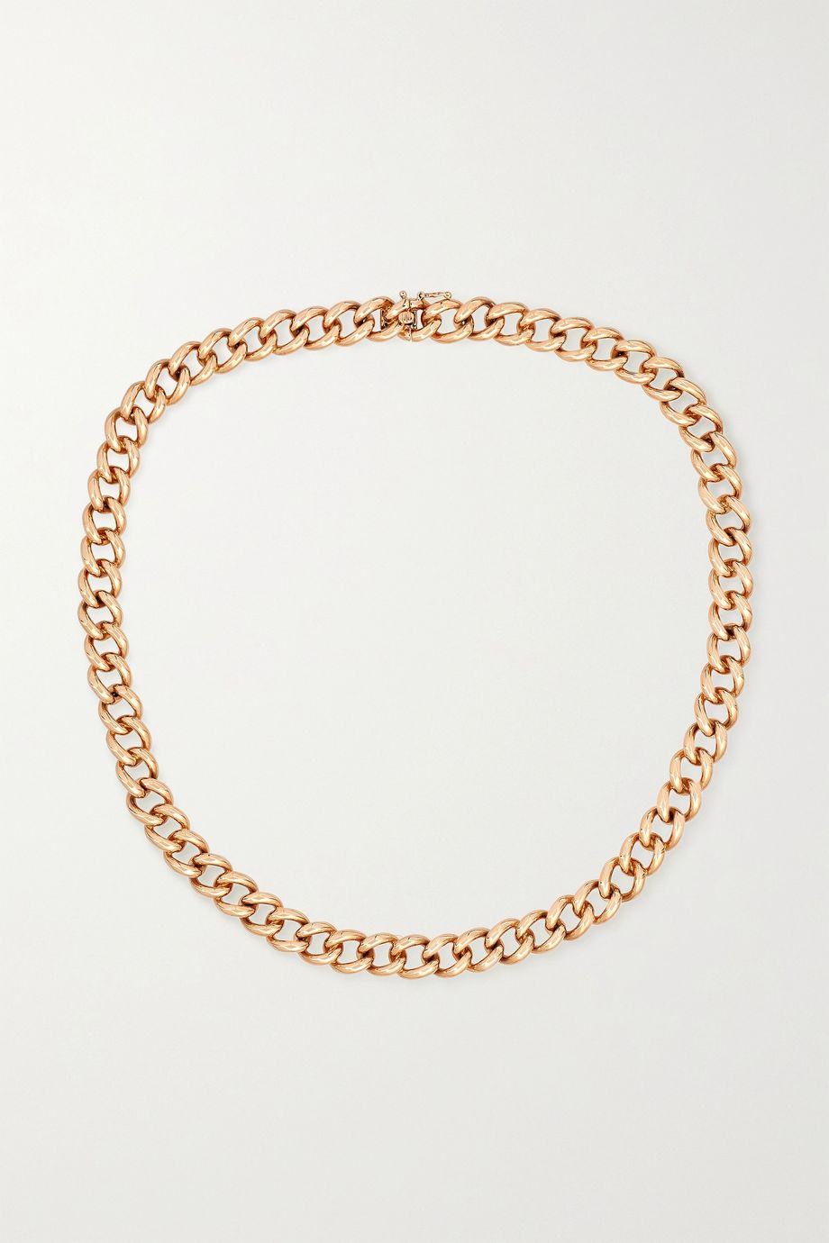 Anita Ko 18-karat rose gold necklace