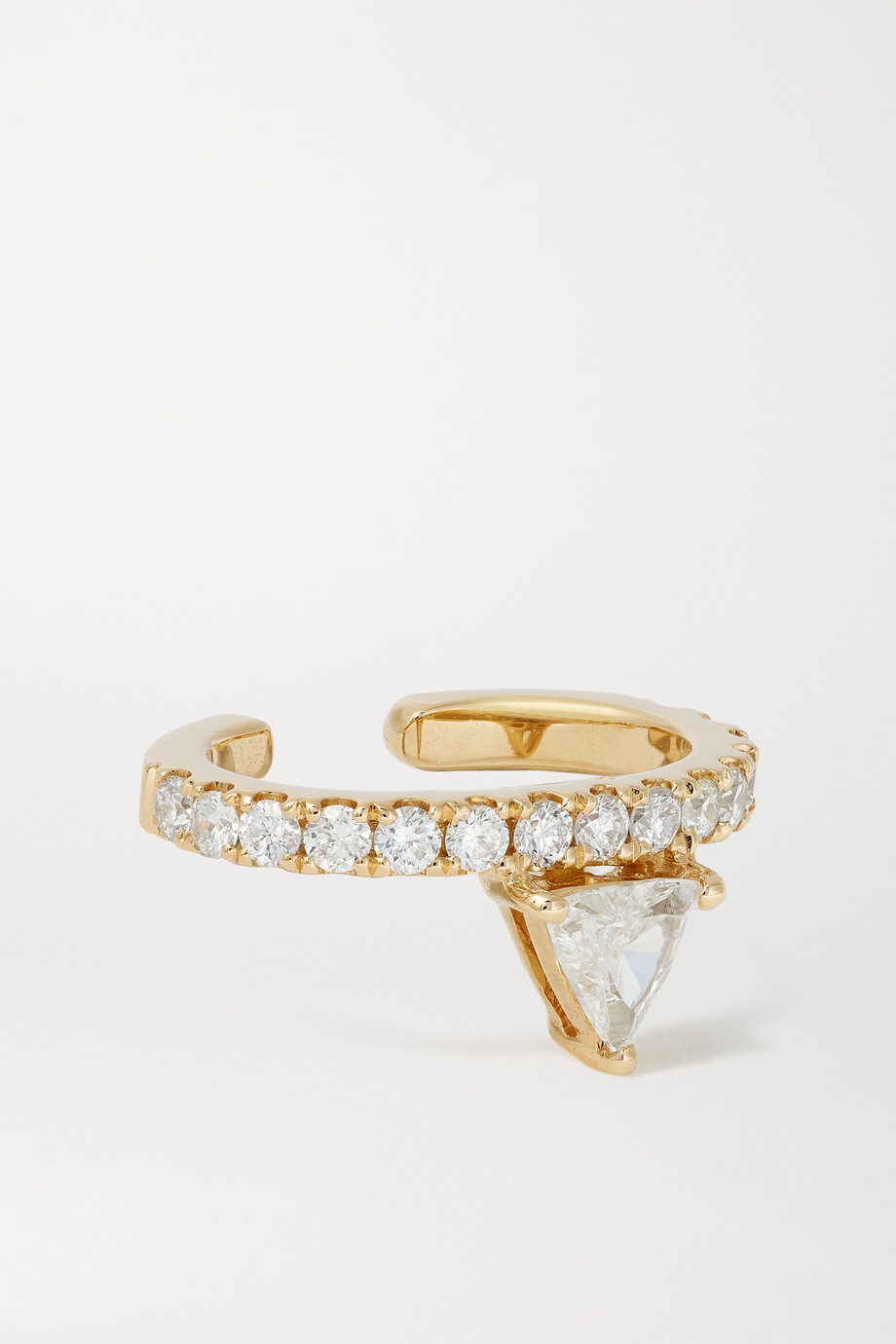 Anita Ko 18-karat gold diamond ear cuff
