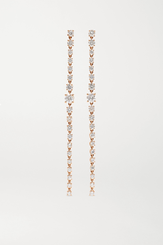 Anita Ko Ohrringe aus 18Karat Roségold mit Diamanten