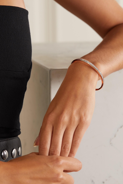 Anita Ko 18-karat rose gold diamond cuff